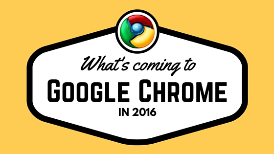 google chrome 2016