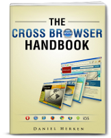 Cross Browser Book Cover